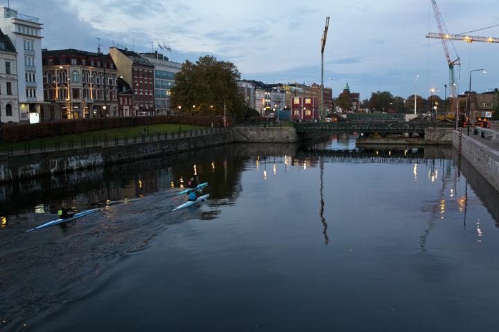 Malmö kanaler - Malmö water channels